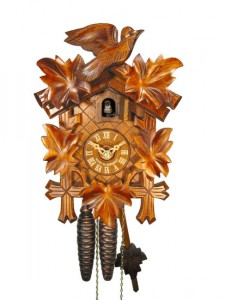 Cuckoo clock by August Schwer