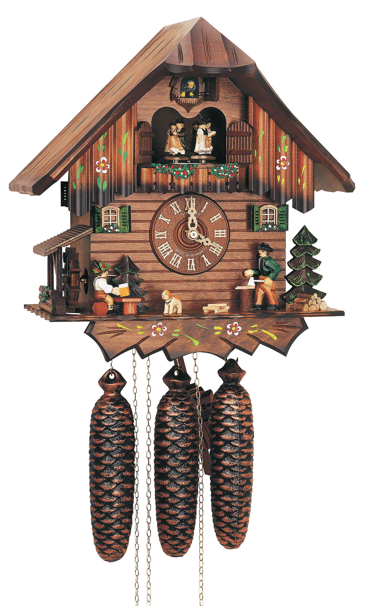 Cuckoo Clocks Switzerland Cuckoo Clock 8-day-movement