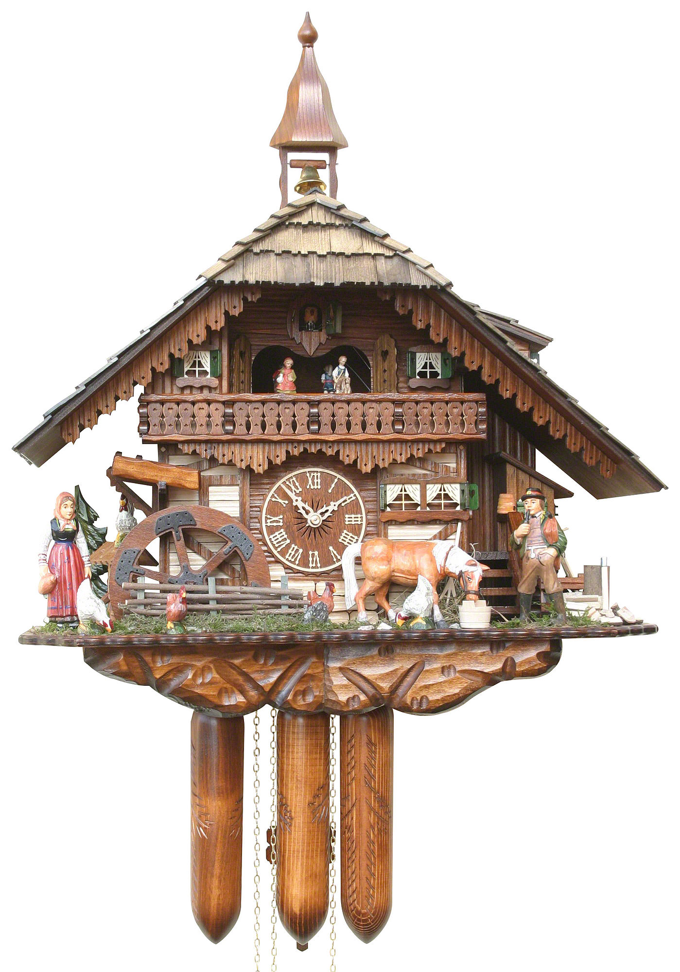 Cuckoo Clock of the Year Winner Cuckoo Clock Shop Black