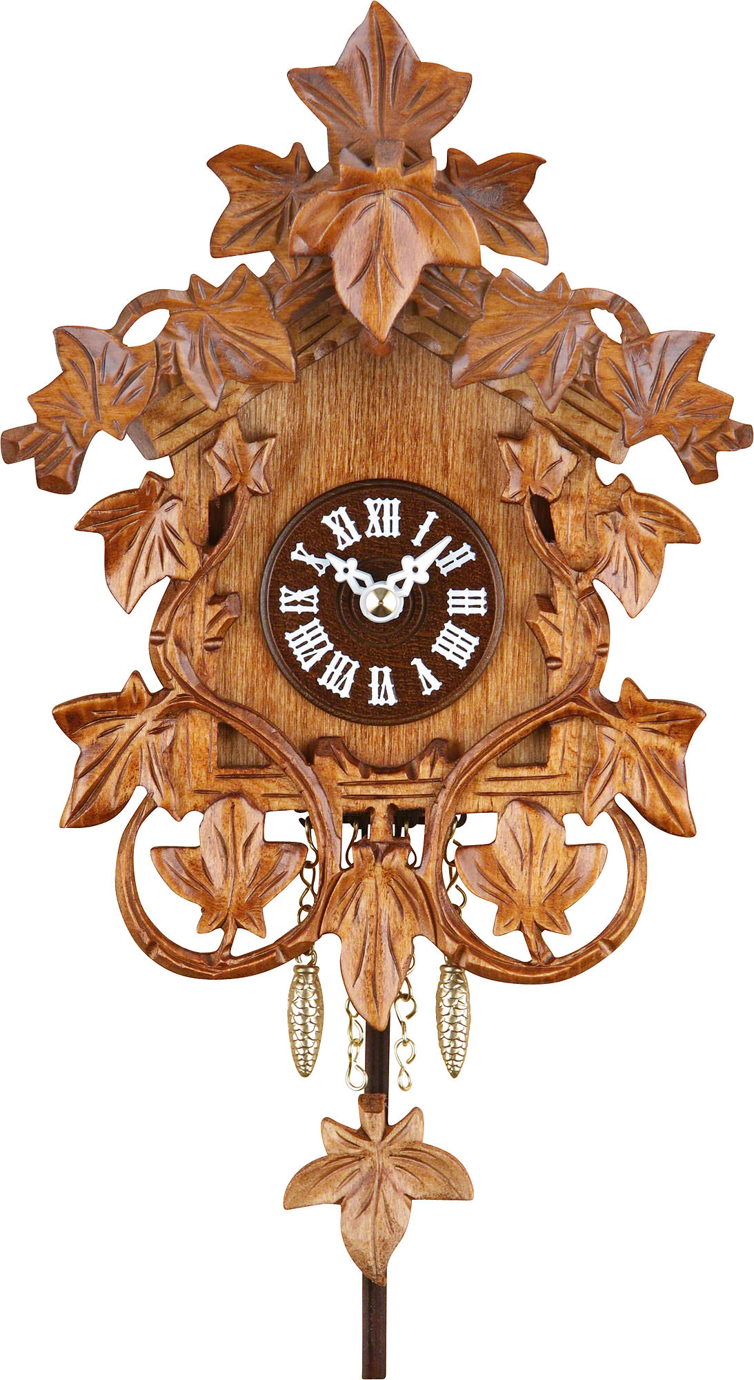 Cuckoo clock kuckulino quartz movement black forest pendulum clock style 20cm by trenkle uhren - Cuckoo clock pendulum ...