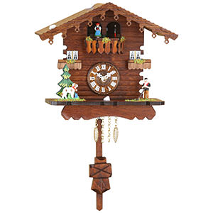 Black Forest Souvenir Clocks & Weather Houses Black Forest Pendulum Clock Quartz-movement 18cm by Trenkle Uhren