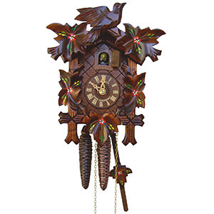 Carved Cuckoo Clocks Cuckoo Clock 1-day-movement Carved-Style 23cm by Anton Schneider