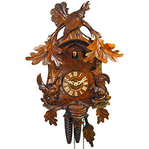 Carved Cuckoo Clocks Cuckoo Clock 1-day-movement Carved-Style 36cm by August Schwer