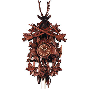 Carved Cuckoo Clocks Cuckoo Clock 8-day-movement Carved-Style 120cm by Rombach & Haas