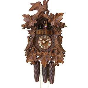 Carved Cuckoo Clocks Cuckoo Clock 8-day-movement Carved-Style 40cm by Rombach & Haas