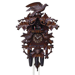 Carved Cuckoo Clocks Cuckoo Clock 8-day-movement Carved-Style 53cm by Rombach & Haas