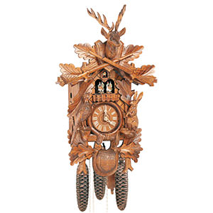 Carved Cuckoo Clocks Cuckoo Clock 8-day-movement Carved-Style 59cm by Anton Schneider
