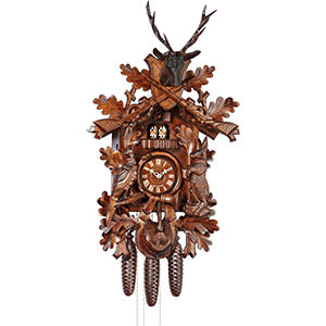 Carved Cuckoo Clocks Cuckoo Clock 8-day-movement Carved-Style 75cm by Anton Schneider
