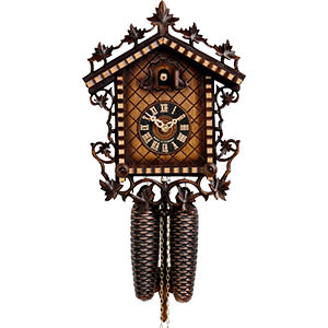 Chalet Cuckoo Clocks Cuckoo Clock 8-day-movement Chalet-Style 33cm by Hönes