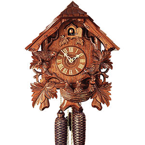 Chalet Cuckoo Clocks Cuckoo Clock 8-day-movement Chalet-Style 37cm by Rombach & Haas