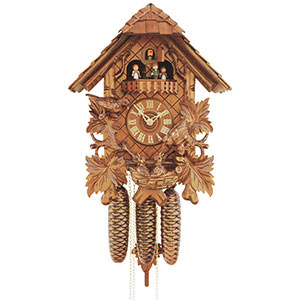 Chalet Cuckoo Clocks Cuckoo Clock 8-day-movement Chalet-Style 45cm by Rombach & Haas