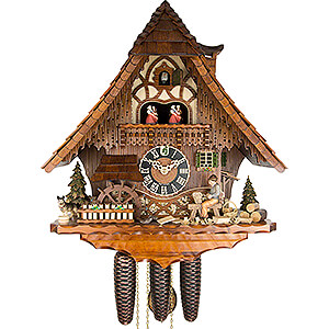 Chalet Cuckoo Clocks Cuckoo Clock 8-day-movement Chalet-Style 49cm by Hönes