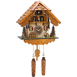 Chalet Cuckoo Clocks Cuckoo Clock Quartz-movement Chalet-Style 32cm by Trenkle Uhren