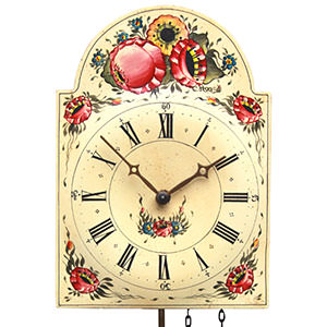Shield Clocks - Black Forest Clocks Shieldclock 1-day-movement 12,5cm by Rombach & Haas