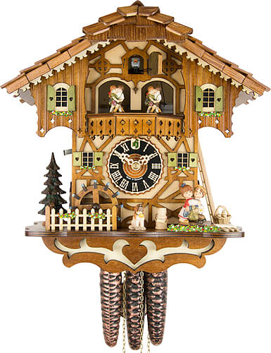 Cuckoo-palace.com Cuckoo Clock 1-day-movement Chalet-Style 31cm by H