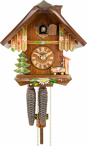 Image For Cuckoo Clock 1-day-movement Chalet-Style 20cm by Anton Schneider