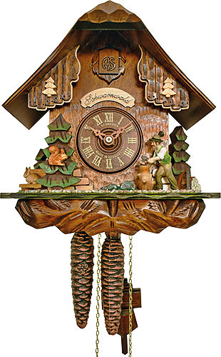 Cuckoo-palace.com Cuckoo Clock 1-day-movement Chalet-Style 22cm by Anton Schneider