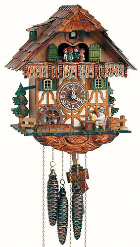 Cuckoo-palace.com Cuckoo Clock 1-day-movement Chalet-Style 32cm by Anton Schneider