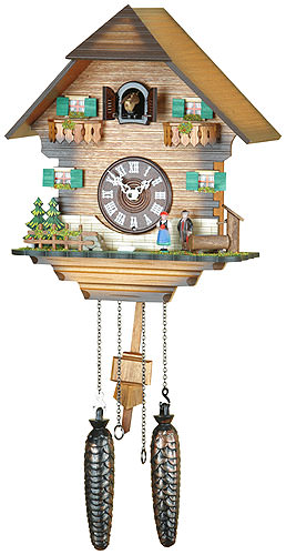 Cuckoo Clock Quartz-movement Chalet-Style 31cm by Trenkle ...