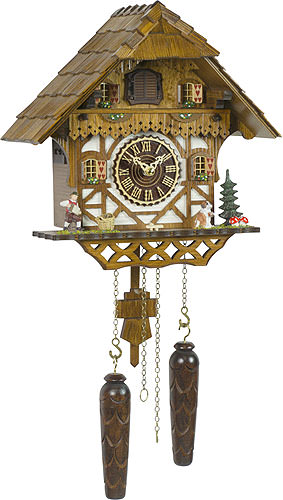 Image For Cuckoo Clock Quartz-movement Chalet-Style 29cm by Trenkle Uhren