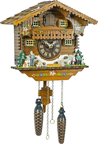 Image For Cuckoo Clock Quartz-movement Chalet-Style 25cm by Trenkle Uhren