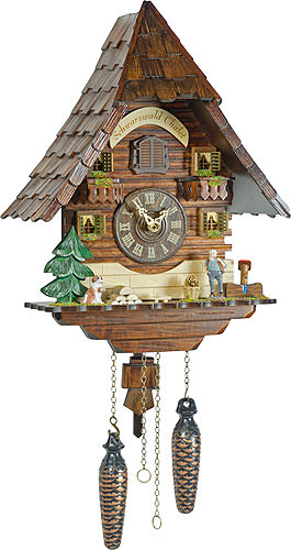 Image For Cuckoo Clock Quartz-movement Chalet-Style 36cm by Trenkle Uhren