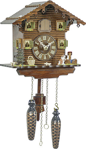 Image For Cuckoo Clock Quartz-movement Chalet-Style 23cm by Trenkle Uhren