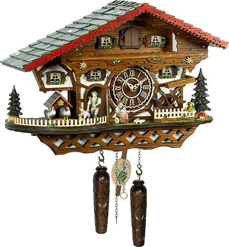 Image For Cuckoo Clock Quartz-movement Chalet-Style 26cm by Trenkle Uhren