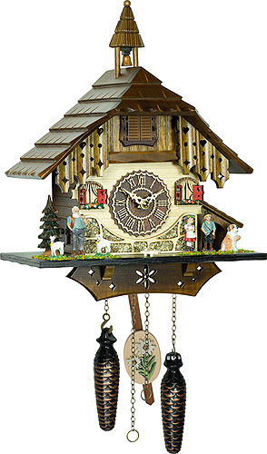 Image For Cuckoo Clock Quartz-movement Chalet-Style 31cm by Trenkle Uhren