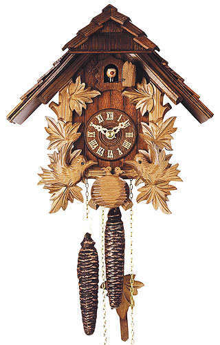 Image For Cuckoo Clock 1-day-movement Chalet-Style 24cm by Rombach & Haas
