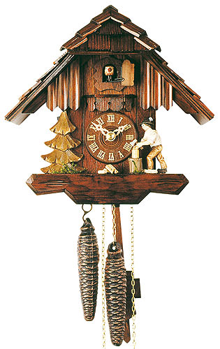 Image For Cuckoo Clock 1-day-movement Chalet-Style 23cm by Rombach & Haas
