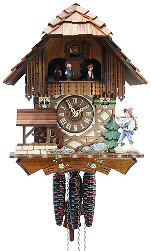 Cuckoo-palace.com Cuckoo Clock 1-day-movement Chalet-Style 31cm by Rombach & Haas