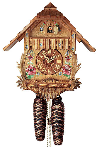 Image For Cuckoo Clock 8-day-movement Chalet-Style 32cm by Rombach & Haas