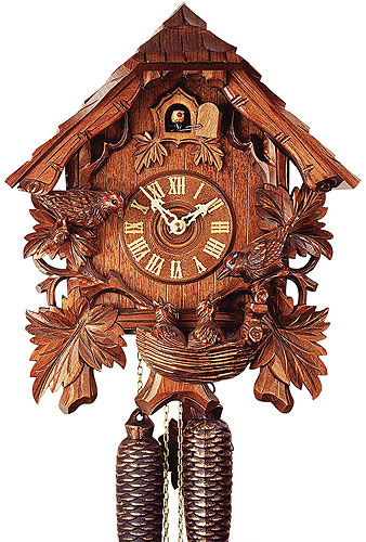 Image For Cuckoo Clock 8-day-movement Chalet-Style 37cm by Rombach & Haas
