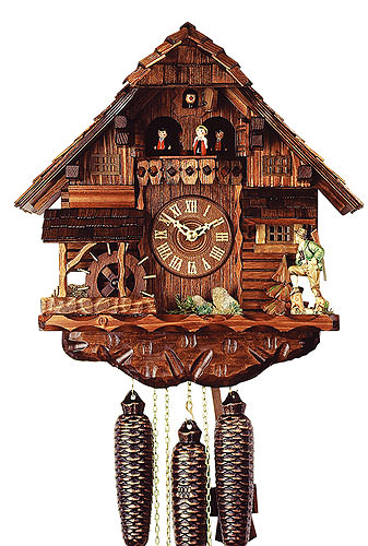 Image For Cuckoo Clock 8-day-movement Chalet-Style 38cm by Rombach & Haas