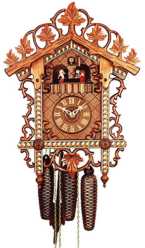 Image For Antique replica clock 8-day-movement 48cm by Rombach & Haas