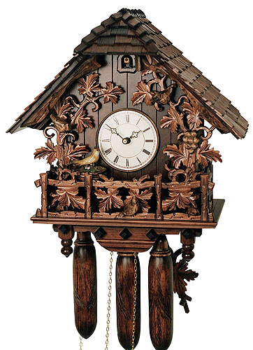 Image For Cuckoo Clock 8-day-movement Chalet-Style 50cm by Rombach & Haas