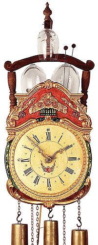 Image For Antique replica clock 8-day-movement 50cm by Rombach & Haas