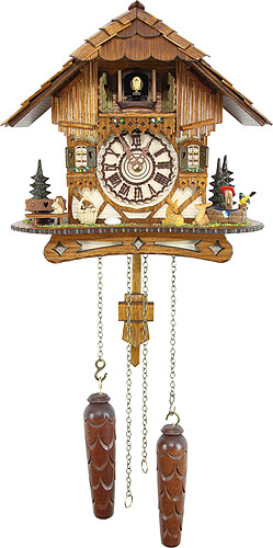 Image For Cuckoo Clock Quartz-movement Chalet-Style 26cm by Cuckoo-Palace