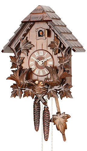 Image For Cuckoo Clock 1-day-movement Carved-Style 34cm by Hekas