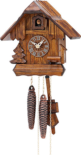 Image For Cuckoo Clock 1-day-movement Chalet-Style 20cm by Hekas