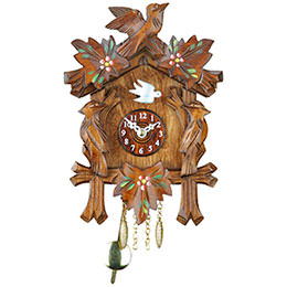 Black Forest Pendulum Clock Quartz-movement 17cm by Trenkle Uhren