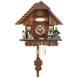 Black Forest Pendulum Clock Quartz-movement 19cm by Trenkle Uhren