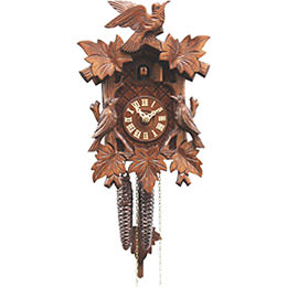 Cuckoo Clock 1-day-movement Carved-Style 28cm by Rombach & Haas