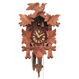 Cuckoo Clock 1-day-movement Carved-Style 33cm by Rombach & Haas