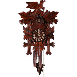 Cuckoo Clock 1-day-movement Carved-Style 34cm by Hekas