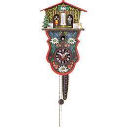 Cuckoo Clock 1-day-movement Chain-pull-Style 28cm by Trenkle Uhren