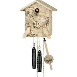 Cuckoo Clock 1-day-movement Chalet-Style 21cm by Hubert Herr