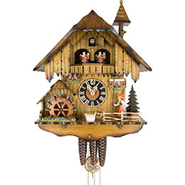 Cuckoo Clock 1-day-movement Chalet-Style 40cm by Hönes