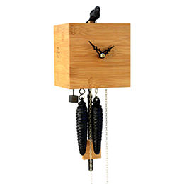 Cuckoo Clock 1-day-movement Modern-Art-Style 17cm by Rombach & Haas